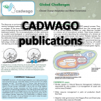 Articles published by CADWAGO project team